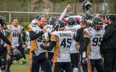 23.09.18 – Kings gewinnen in Wesseling und holen sich die Meisterschaft der Landesliga NRW Süd