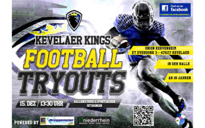 TryOut Kevelaer Kings Seniors am 15.12.2018