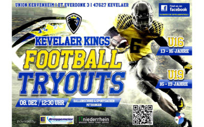 TryOut Kevelaer Kings Youth am 08.12.2018