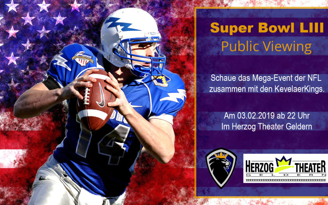 SuperBowl LIII im Herzog Theater Geldern