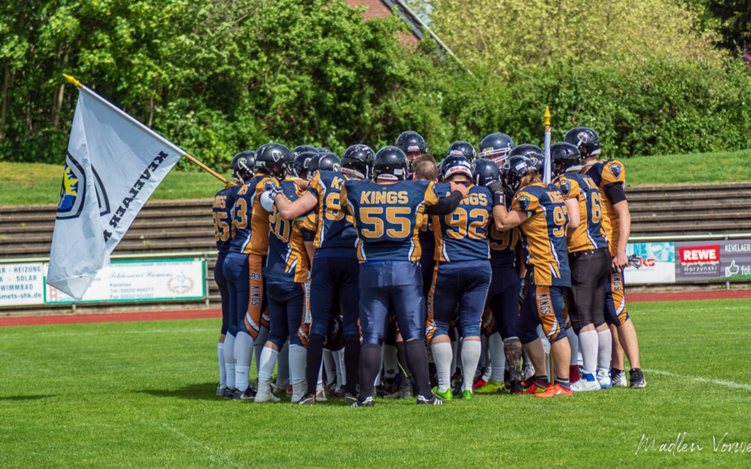 27.04.19 Kevelaer Kings vs. Schiefbahn Riders