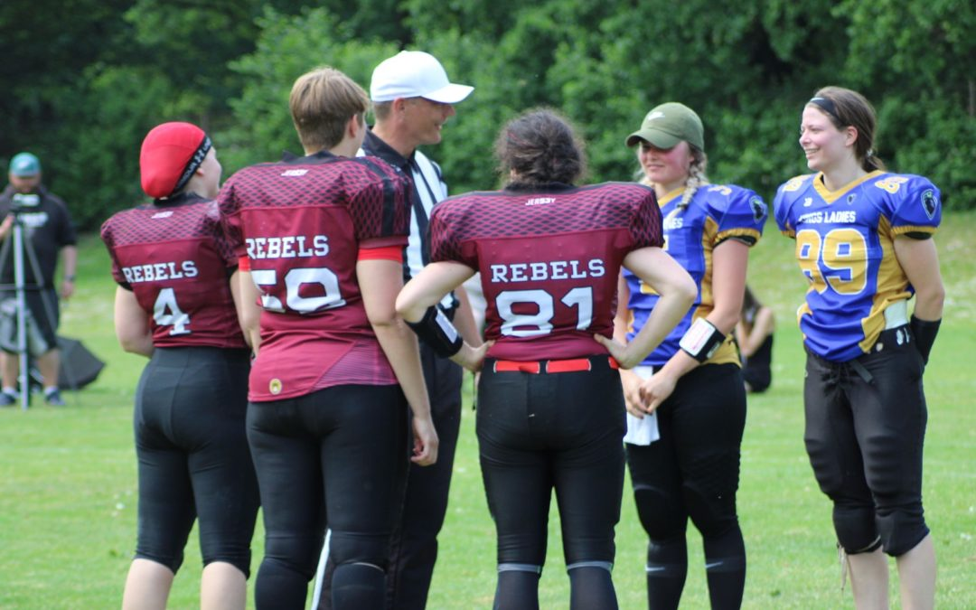 10.06.2019 – Kevelaer Kings Ladies vs. Düsseldorf Panther Damen / SG Rebels/Devils Damen